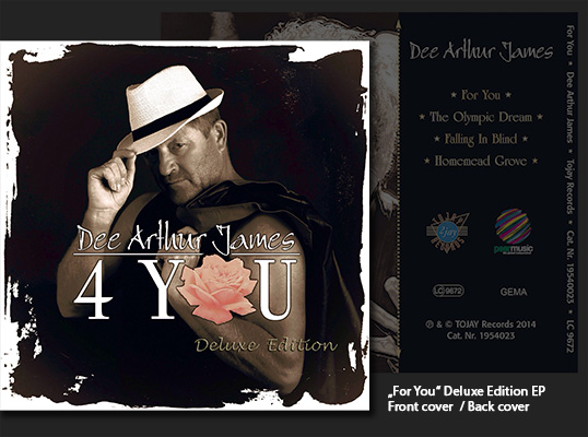 "Dee Arthur James - ""For You"" Deluxe Edition EP"